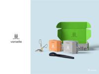 Verselle packaging design