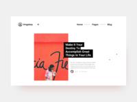 Blog landing page redesign