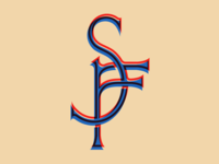 SF monogram logo