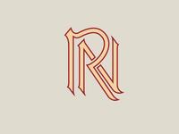 RN monogram