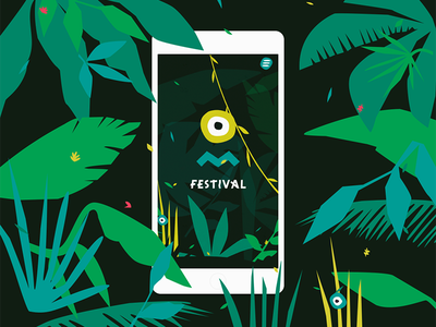 Pleinvrees Festival 2017 - Mobile amsterdam festival graphic design artwork