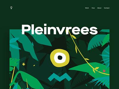Pleinvrees Festival 2017 - Cover graphic design artwork branding typography design illustration festival amsterdam