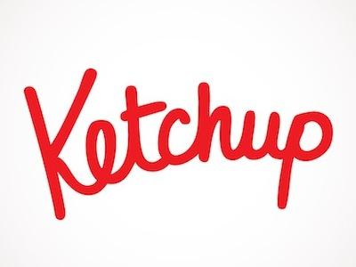 ketchup logo by kait schupp dribbble rh dribbble com ketchup colors ketchup lovers