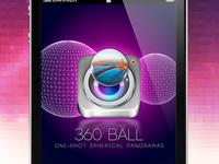 360 Ball Splashscreen