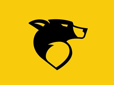 Border Collie Logo mark roofing border collie dog logo