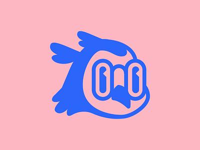 Lil owl mascot illustration vector logo branding