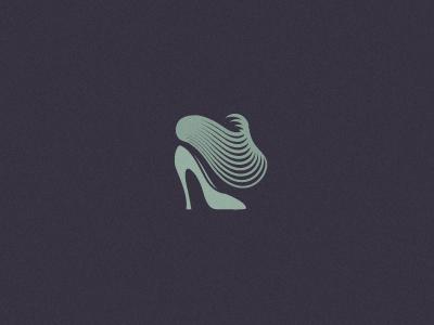 Illusoria woman shoes fashion brand mark logo