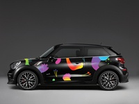 SOKO brand identity juice drink sea flowers branding pattern car