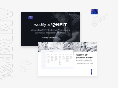Business card Voucher minimal software textures business card print marketing ux branding fitness layout visual design graphic