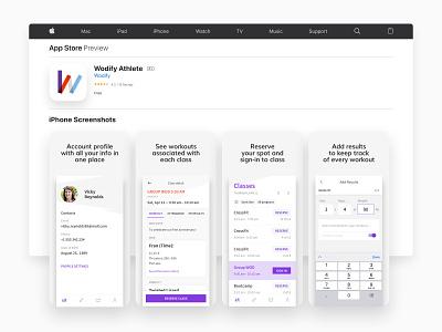 App Store Presentation product uidesign typography visual interface ux screens apple app design app ui layout design graphic