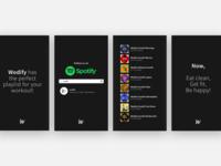 Wodify's Spotify playlists