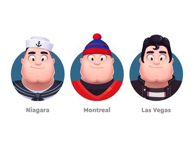 WordsApp Characters