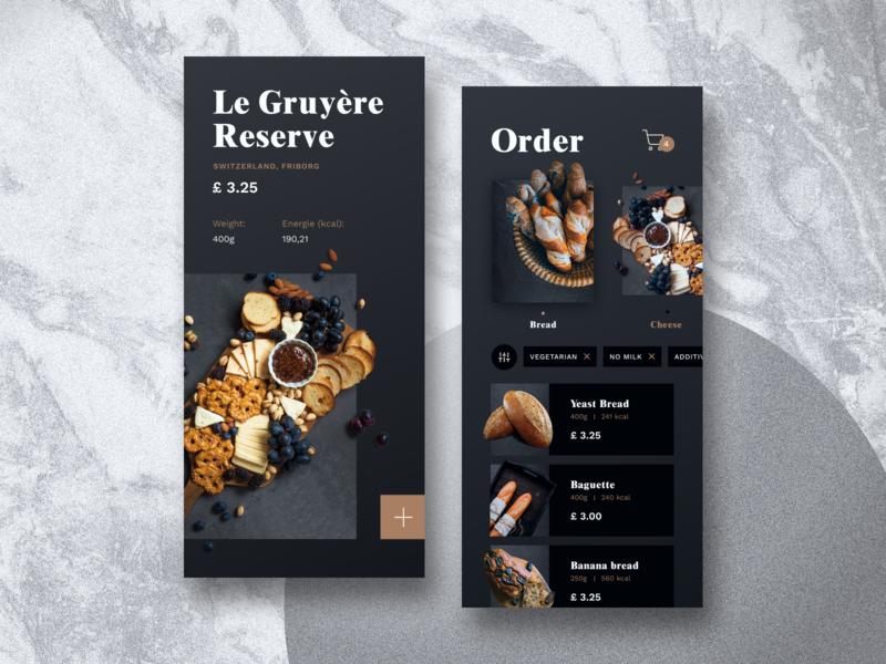 Bakery App Concept