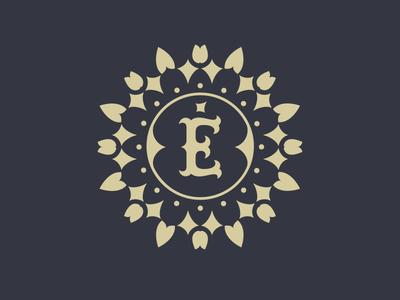 Época Monogram epoca restaurant brand design branding identity design identity monogram logo