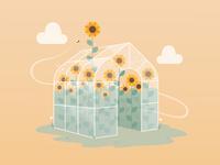 Sunflower Greenhouse 🌻