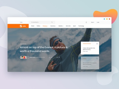 Magazine Site Concept