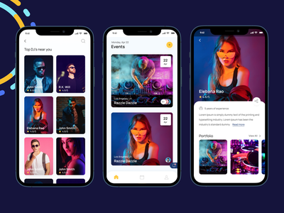 Plan, hire, & share your next event all with one app. Festful app white clean branding salesforce designers  decorators photographers  photo booths wedding  event planners find the right talent event planning talent minimal usa ios party invite freelancers management events festful