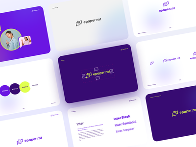 Exploring the typography for email marketing product emailmarketing epaper pakistan hirepixels ux ui freebie mockups print multicolors logos minimal clean branding whatfont whichfont fontselection fonts graphics designing