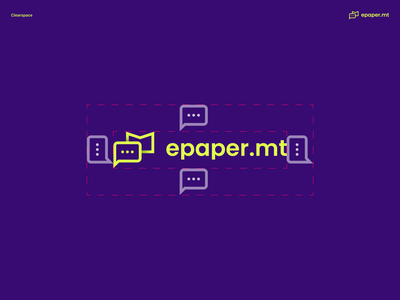 e-Paper logo and branding finalised email crypto hirepixels freelancerondemand ux abstract freebie focus ui fonts banners marketing printmedia clean minimal shapes mascots logos graphics design