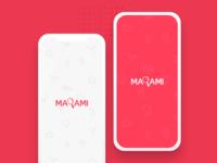 Food Delivery Mobile App Splash Concept