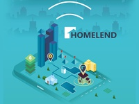 Isometric City for Homelend