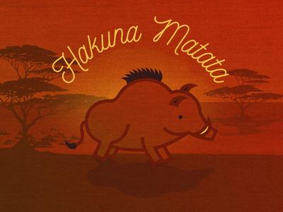 Pumbaa safari artwork icon animal wild animal wild boar wild children book illustration kids book disney world movie disney kids child children child book lion king hakuna matata art vector illustration