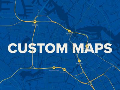 Custom maps article blog customisation app design ui mapbox maps