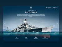 World of Warships Blitz website