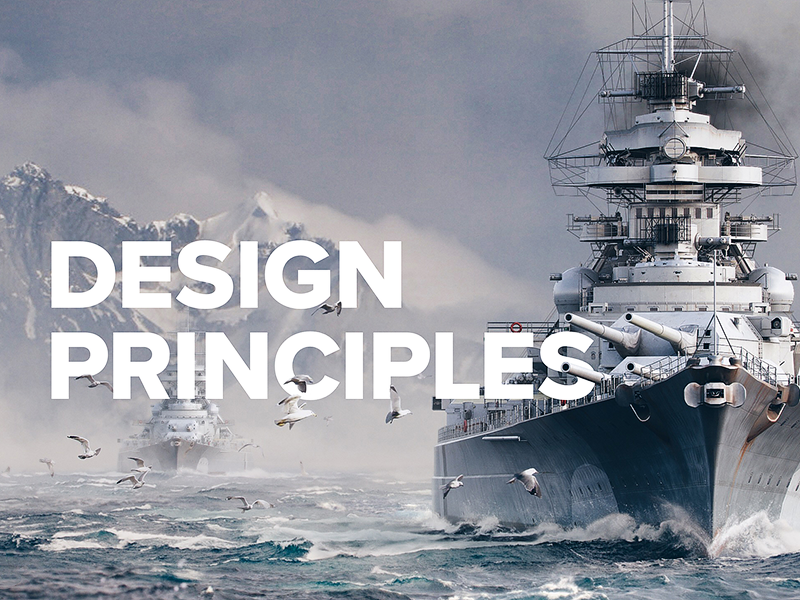 Design principles warships mobile ui principles design visual design game ui