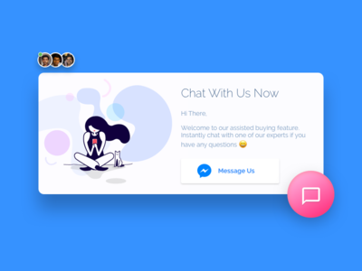 Chat Request Popup