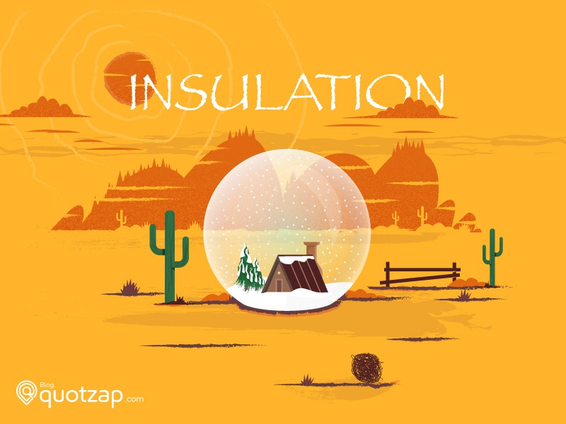 Insulation ice snow dessert insulation