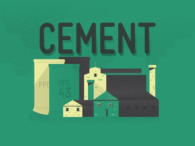 Cement Illustration