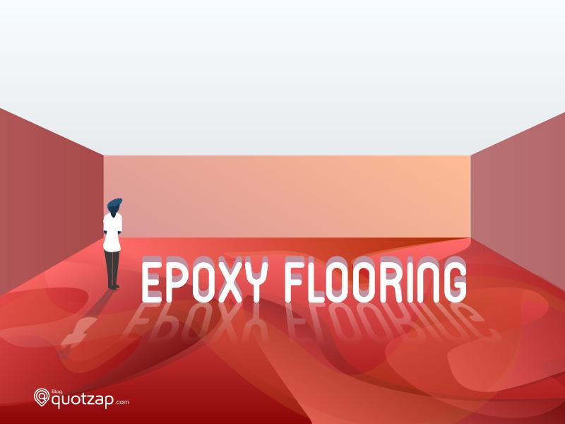 Epoxy Flooring reflection architecture flooring epoxy