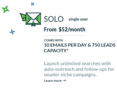 Ninjaoutreach Pricing Page with Upsells