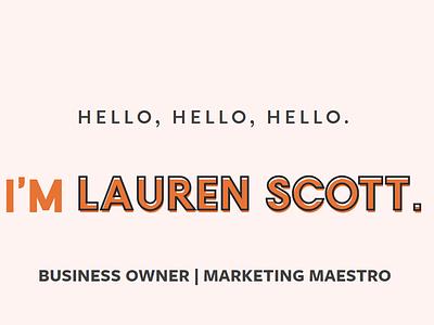 Home Page of Lauren Scott