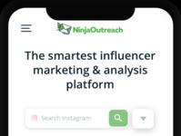 NinjaOutreach Mobile Web Site