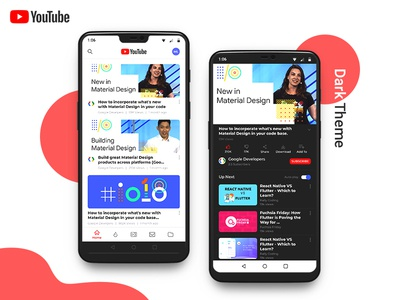 YouTube - Redesign oneplus6 android ux ui video app youtube