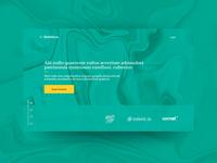 Green agency startup design branding marble desktop luxurious luxury uxdesign ux uidesign ui landing page webdesign concept