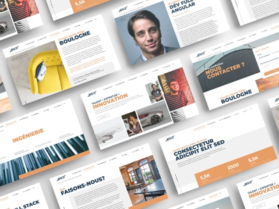 Apside Consulting group redesign ssii consulting technology tech innovation innovate ux design ui design brand mockup website design ux ui
