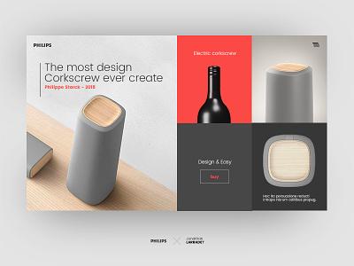 Jonathan Larradet 84 aaa ecommerce bottle wine corkscrew ui design web