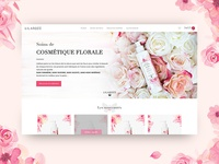 Flower cosmetic ecommerce - Shop