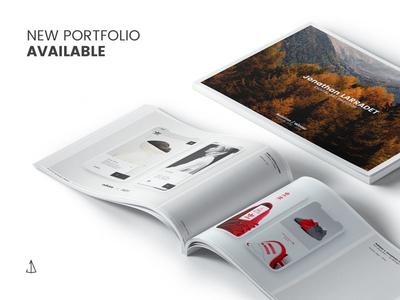 Portfolio Art director autumn identity self branding brand print art director mockup book portfolio