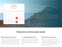 Travel website promotion