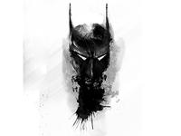 Digital Painting Dark Knight