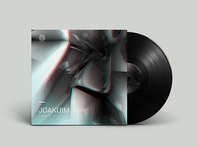 Joakuim EP artwork dnb graphic design first shot digital design