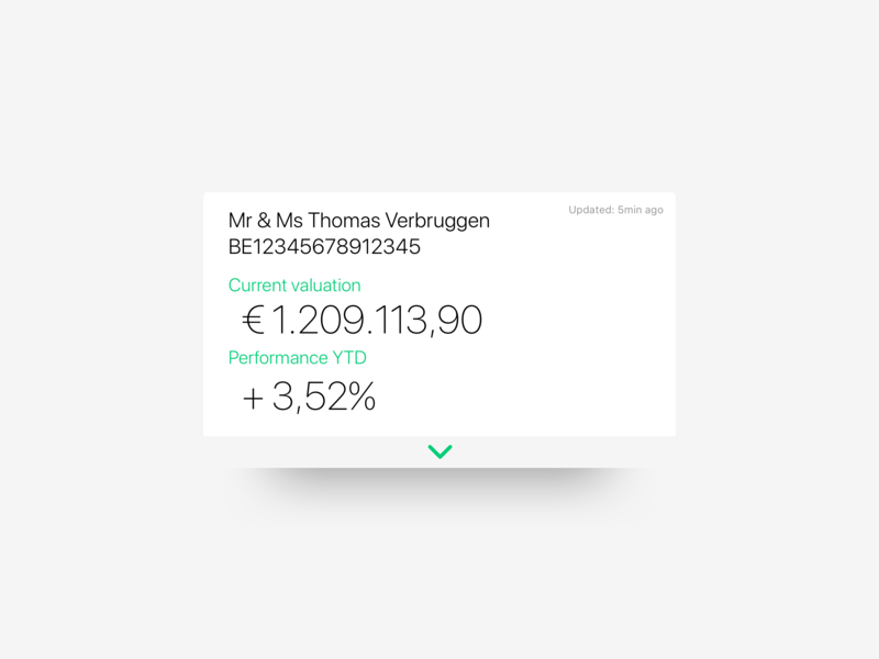 Portfolio card design detail card portfolio bank app bank app product design
