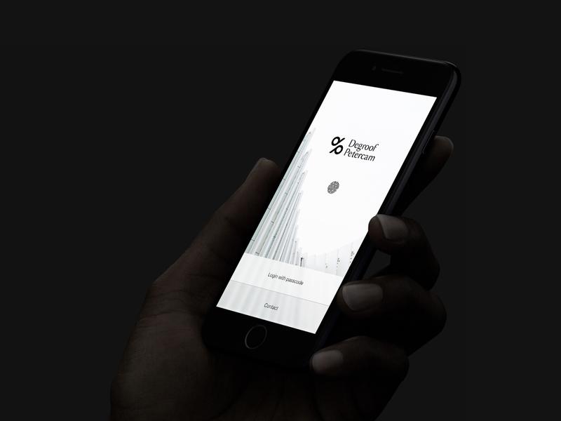 Login screen architecture minimal digital product ui digital finance app bank app