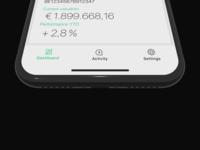 Minimal navigation black  white minimal mobile app design mobile app ios