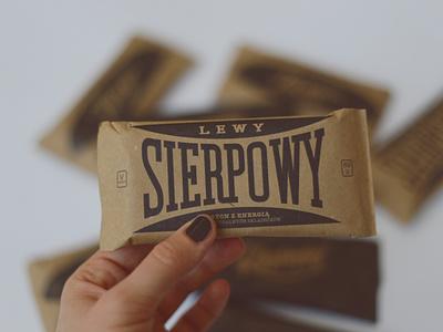 Lewy Sierpowy bar logotype paper vintage logotype logo bar raw vegan zmiany zmiany lewy sierpowy