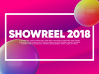 Showreel 2018 thumbinal